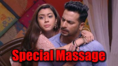 Tujhse Hai Raabta: Kalyani's 'special' massage to Malhar