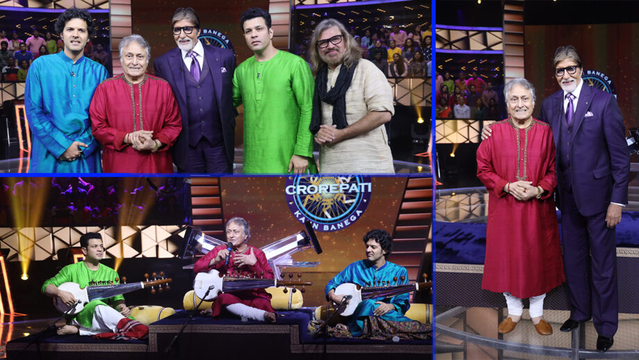 Amitabh Bachchan celebrates birthday on Kaun Banega Crorepati sets