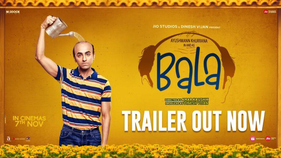 Ayushmann Khurrana is astonishingly unrecognizable in the latest trailer of Bala