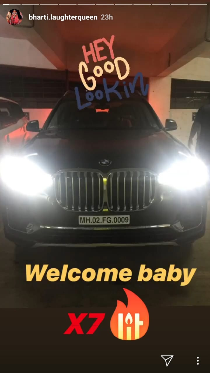 Bharti Singh is proud owner of a swanky BMW