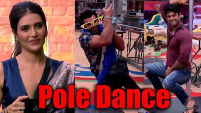 Bigg Boss 13: Paras and Siddharth Shukla perform pole dance for Karishma Tanna