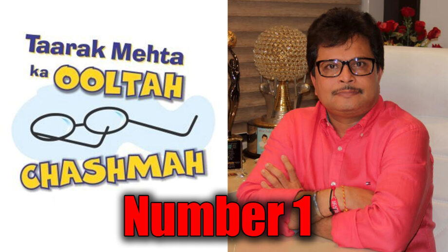 Credit goes to the entire team of Taarak Mehta Ka Ooltah Chashmah for becoming the #1 show across GECs: Producer Asit Kumarr Modi
