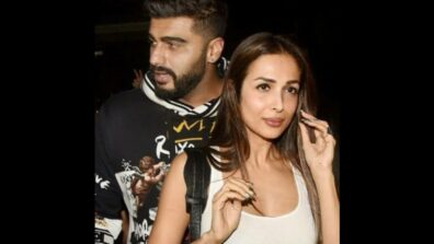 Cute Couple Alert: Malaika Arora and Arjun Kapoor