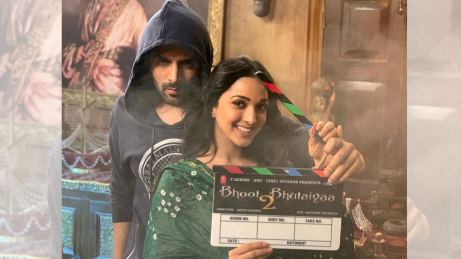 Get ready to be scared with Bhool Bhulaiya 2 couple Kartik Aaryan and Kiara Advani