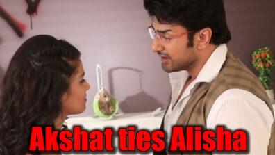 Guddan Tumse Na Ho Payega: Angry Akshat to tie Alisha with a rope