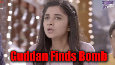 Guddan Tumse Na Ho Payega: Guddan to discover the bomb in the temple