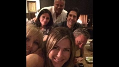 Jennifer Aniston makes a 'FRIEND'ly debut on Instagram
