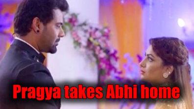 Kumkum Bhagya: Pragya takes Abhi home