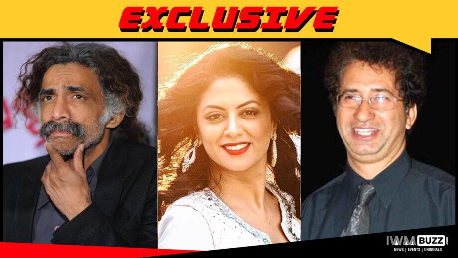 Makarand Deshpande, Kavita Kaushik and Kurush Deboo bag web series Cobweb