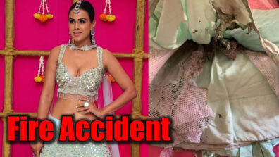 Naagin 4 actress Nia Sharma's lehenga catches fire on Diwali 2