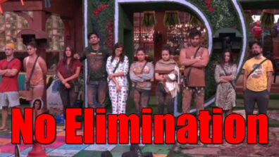 No elimination in Bigg Boss 13