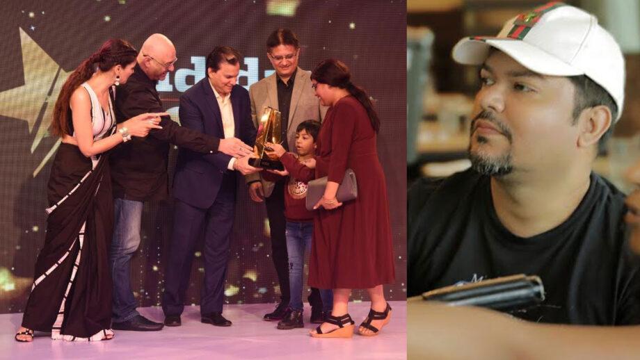 Ram Kamal Mukherjee receives Midday Showbiz Icon Best Director Award