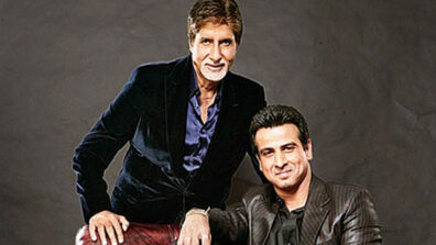 Ronit Roy greets Amitabh Bachchan on his birthday with a respectful charan sparsh!