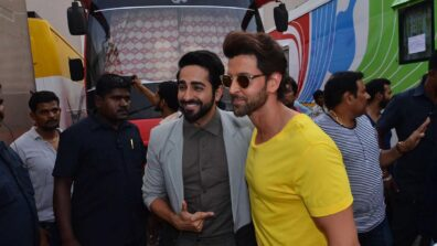 Ultimate bromance between Hrithik Roshan and Ayushmann Khurrana
