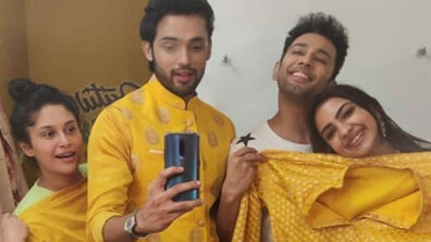 Yellow yellow dirty fellows: Kasautii Zindagii Kay actors Parth Samthaan, Sahil Anand, Pooja Banerjee, Shubhaavi