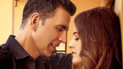 Akshay Kumar goes the romantic way with Nupur Sanon for his first music video