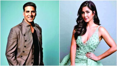 Akshay Kumar's romantic moment with Katrina Kaif