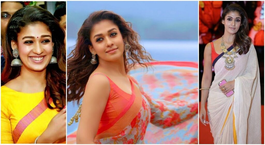Amazing unseen pictures of Nayanthara in a saree 14
