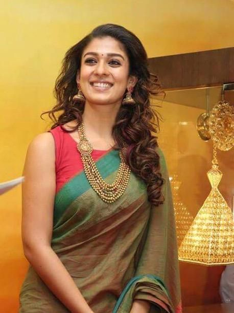 Amazing unseen pictures of Nayanthara in a saree 1