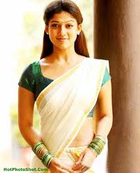 Amazing unseen pictures of Nayanthara in a saree 4