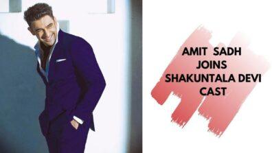 Amit Sadh joins Vidya Balan in 'Shakuntala Devi' mission