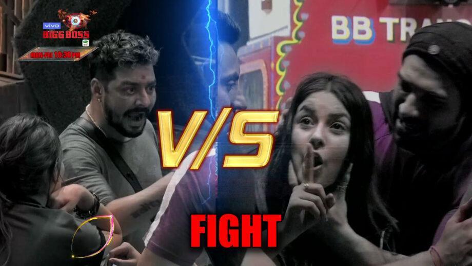 Bigg Boss 13: Entertainers Hindustani Bhau and Shehnaaz's nasty fight
