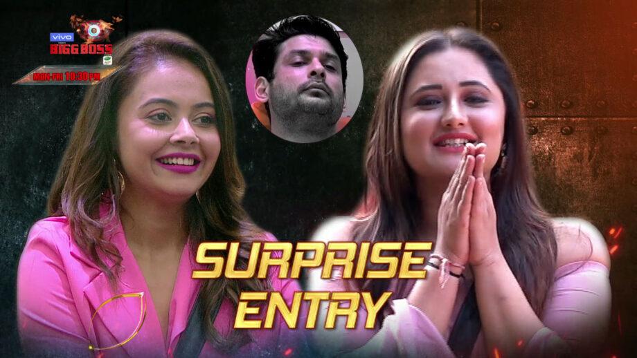 Bigg Boss 13: Rashami Desai and Devoleena Bhattacharjee's re-entry to upset Siddharth