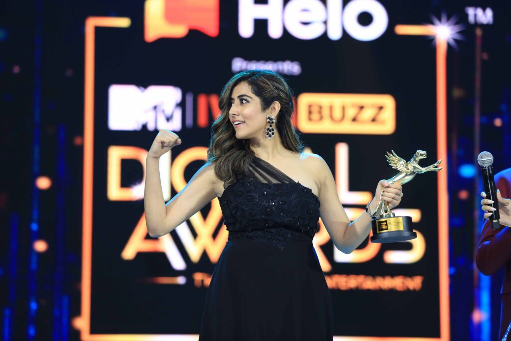 Candid moments from MTV IWMBuzz Digital Awards 2019 17