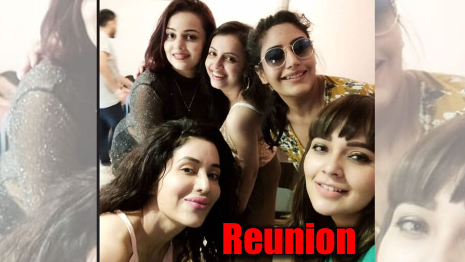 Ishqbaaaz girl gang reunites for Nehalaxmi Iyer's birthday