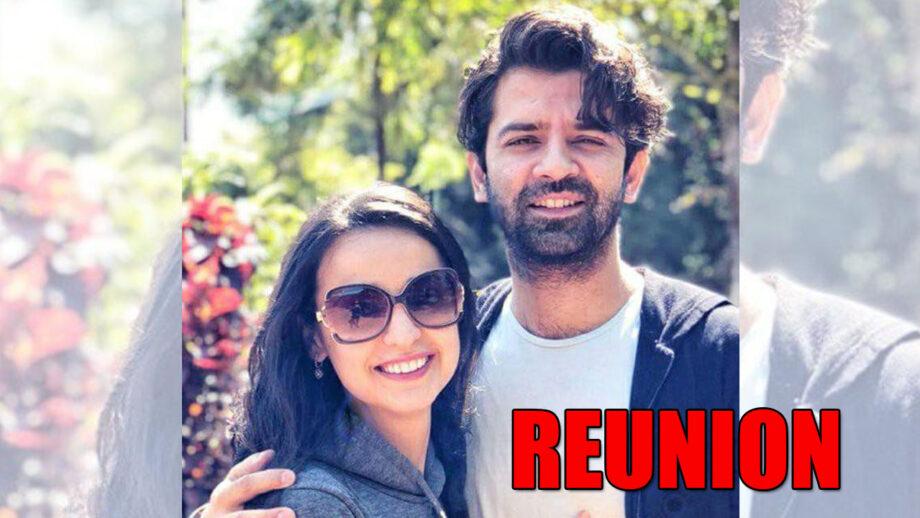 Iss Pyaar Ko Kya Naam Doon actors Barun Sobti and Sanaya Irani get together