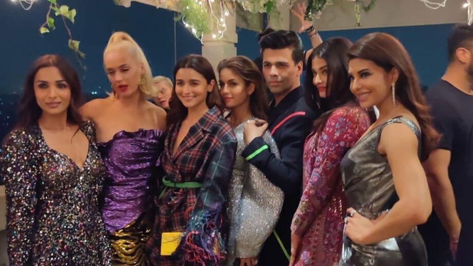 Karan Johar's mega bash for Katy Perry