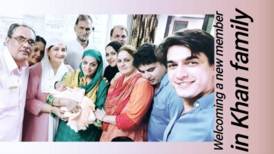 Mohsin Khan welcomes a new member in his family