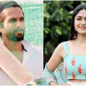 Mrunal Thakur is Shahid Kapoor's girl in Jersey