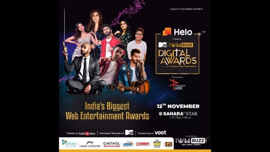 MTV to air India's Biggest Web Entertainment Awards, the IWMBuzz Digital Awards
