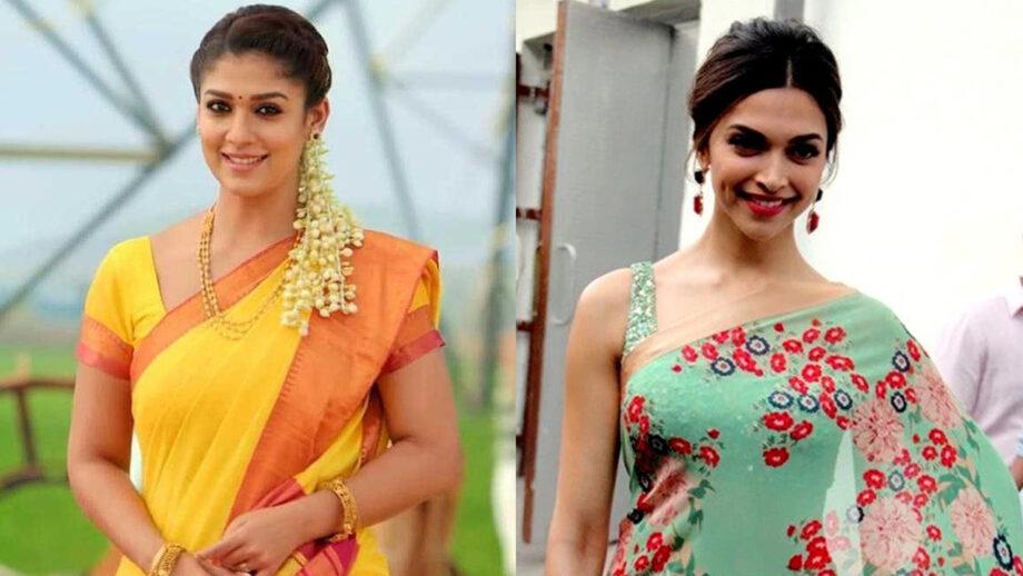 Nayanthara v/s Deepika Padukone: Who rocks in saree?