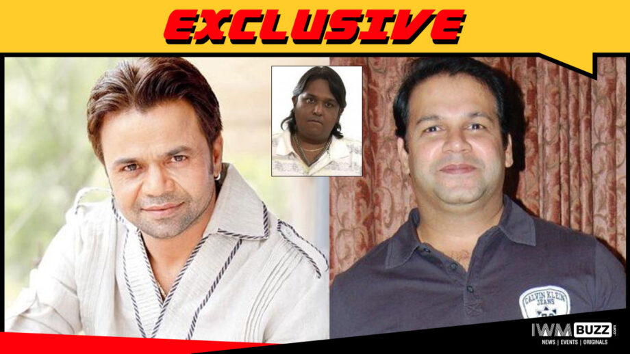 Rajpal Yadav and Sudesh Menon in Snehal Dabi's comedy film Utavle Bavle