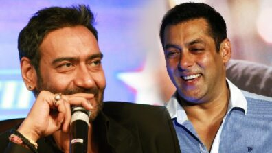 Salman Khan has a special wish for Ajay Devgn on his 100th film