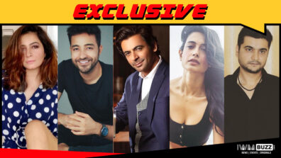 Shonali Nagrani, Paresh Pahuja, Sunil Grover, Sarah Jane Dias and Shobhit Johri in Amazon Prime's Tandav