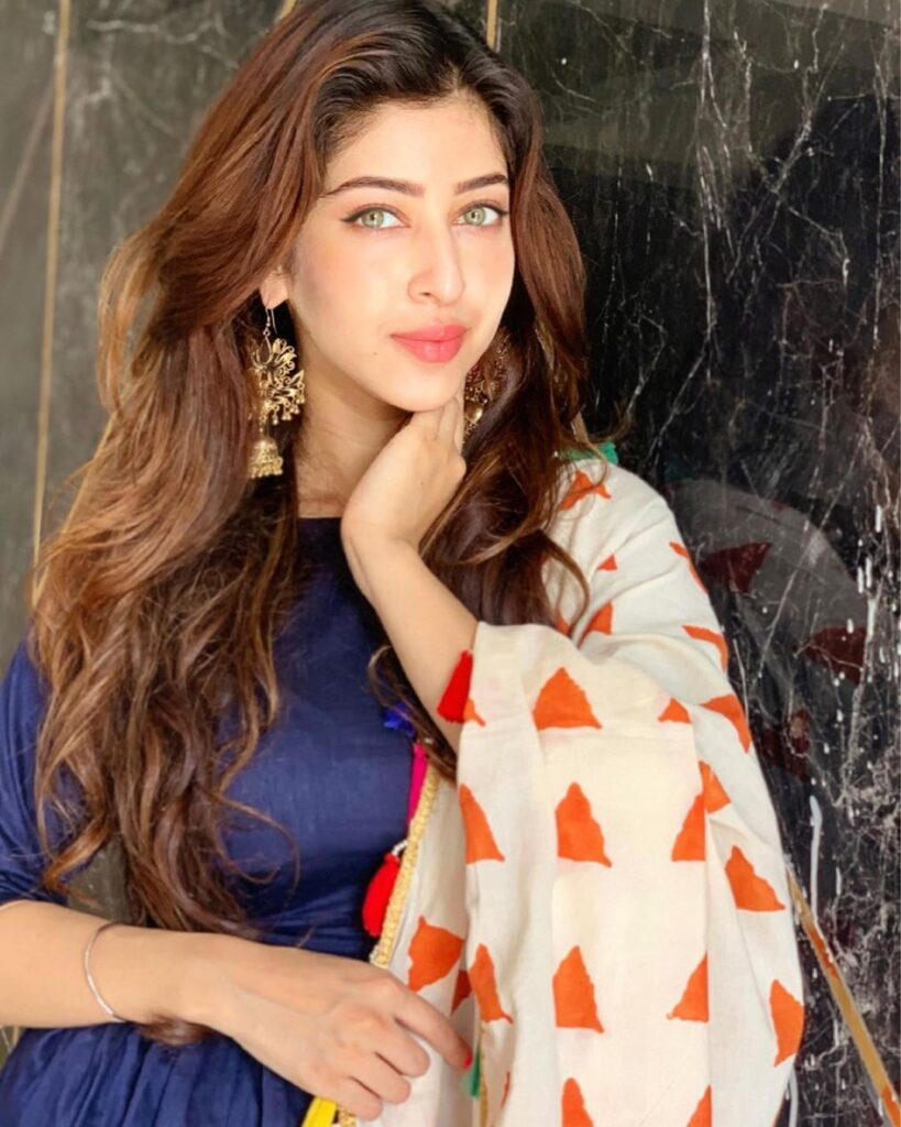 Sonarika Bhadoria exudes class in her Indian wear 8