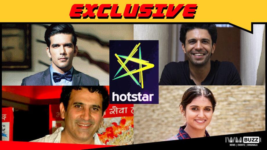 Taher Shabbir, Rajeev Siddhartha, Rinku Rajguru, Parmeet Sethi in Hotstar series 100