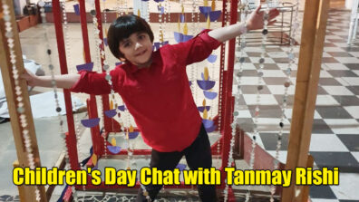 Tanmay Rishi aka Kairav of Yeh Rishta Kya Kehlata Hai gets candid on Children's Day