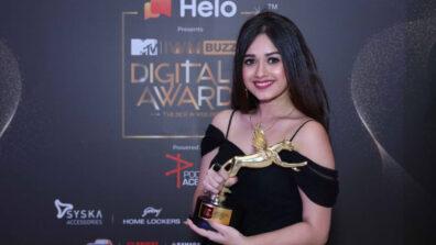 TikTok star Jannat Zubair wins big at MTV IWMBuzz Digital Awards 2019 5