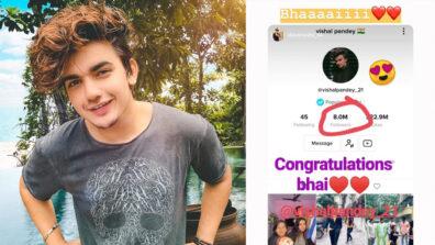 TikTok star Vishal Pandey mops up 8 million on TikTok! 1