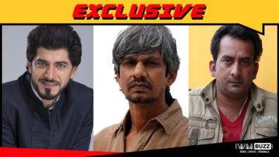 Varun Joshi, Hemant Pandey and Vijay Raaz in comedy film Utavle Bavle
