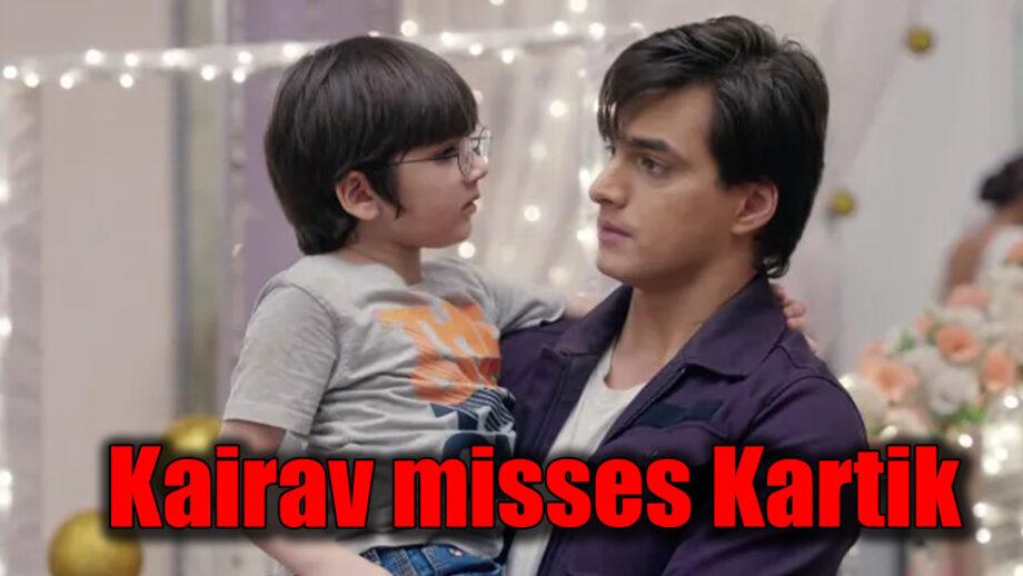 Yeh Rishta Kya Kehlata Hai: Kairav MISSES Kartik even in the presence of Jolly Singh
