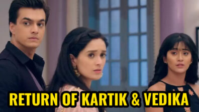Yeh Rishta Kya Kehlata Hai: Kartik returns home; Vedika gets saved