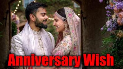 Anushka Sharma and Virat Kohli complete another year of love & romance