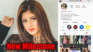 Arishfa Khan's special message for fans!!