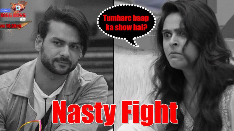 Bigg Boss 13: Vishal Aditya Singh and Madhurima Tuli's nasty argument