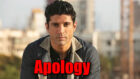CAA protest row: Farhan Akhtar issues apology